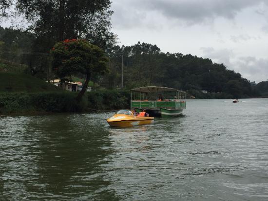 Motor boat cruise