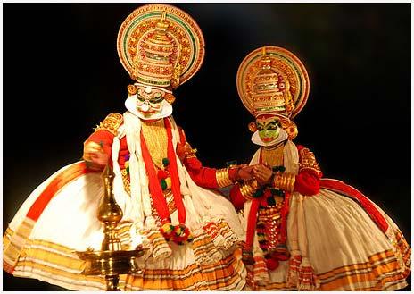 Kathakali and Kalaripayatru dance